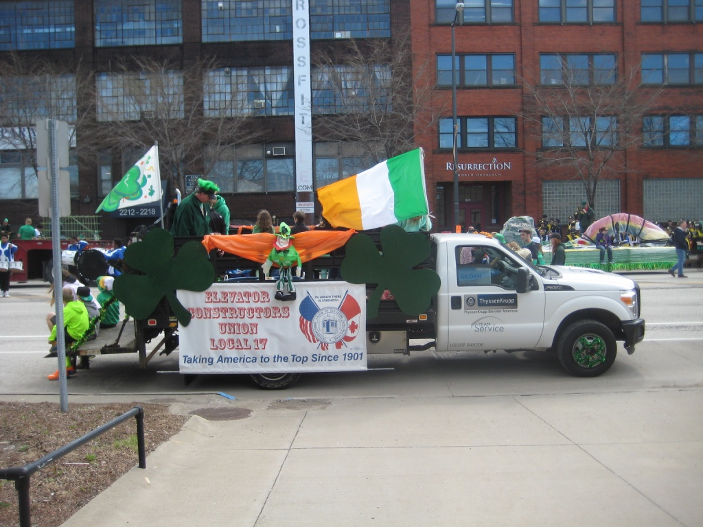 pictures from the parade  u2013 international union of elevator